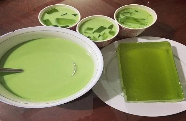 cách làm rau câu trà sữa